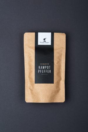 Schwarzer Kampot Pfeffer geschlossen Produktbild