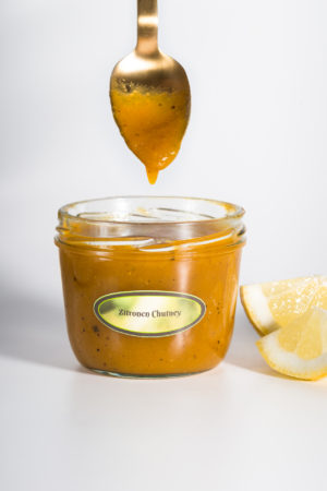 Machumo Produktbild 2 Zitronen Chutney