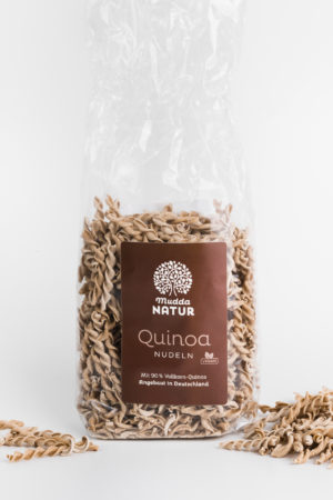 Mudda Natur Quinoa Nudeln Produktbild 2