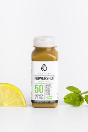 Ingwershot Limette Minze Produktbild 2