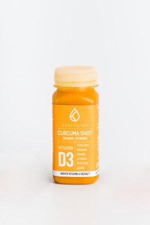 Curcumashot Orange Zitrone