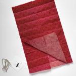 Rotes Bienenwachsttuch
