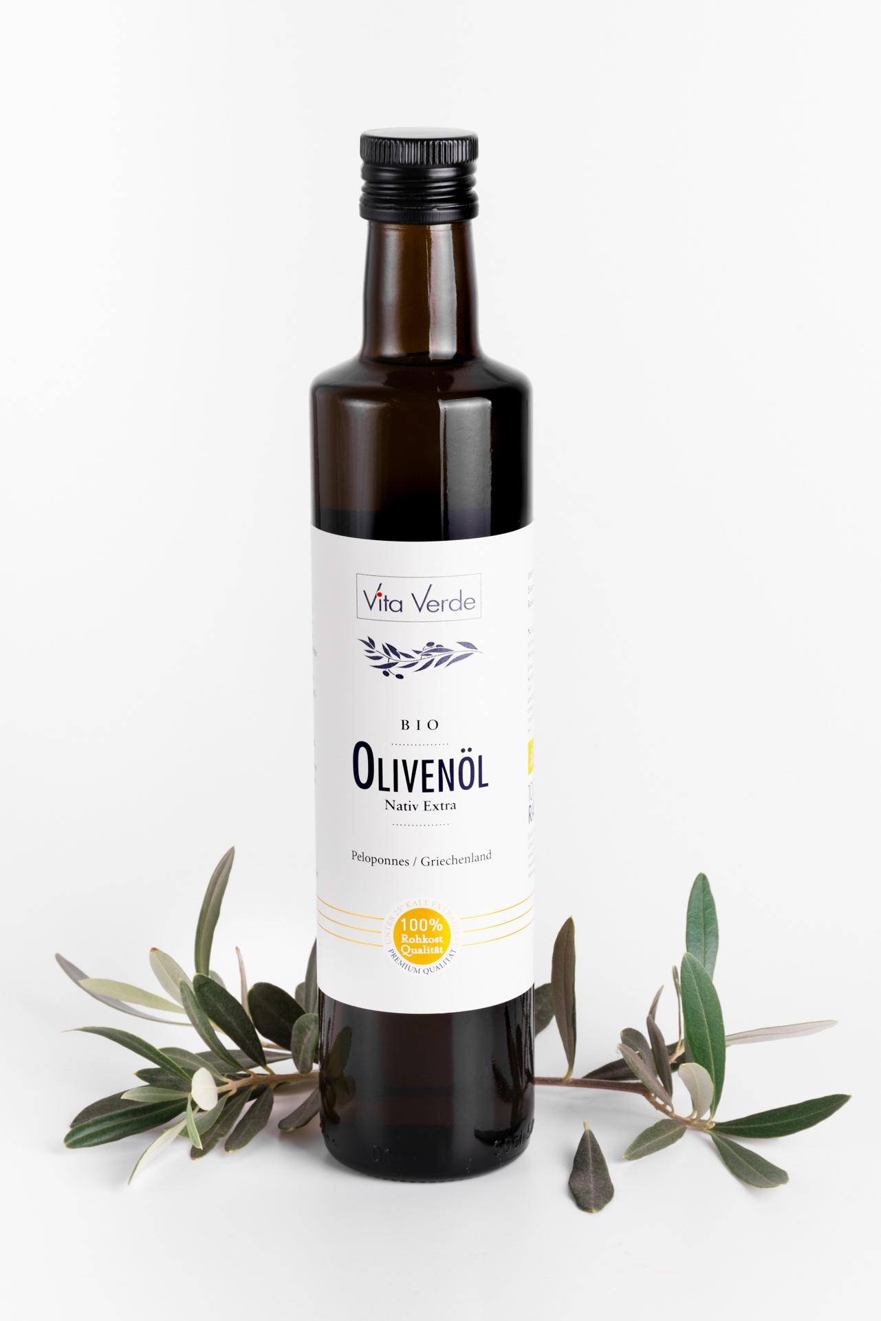 Olivenöl nativ extra Vita Verde Produktbild