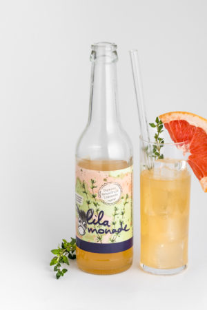 Thymian Grapefruit Limonade