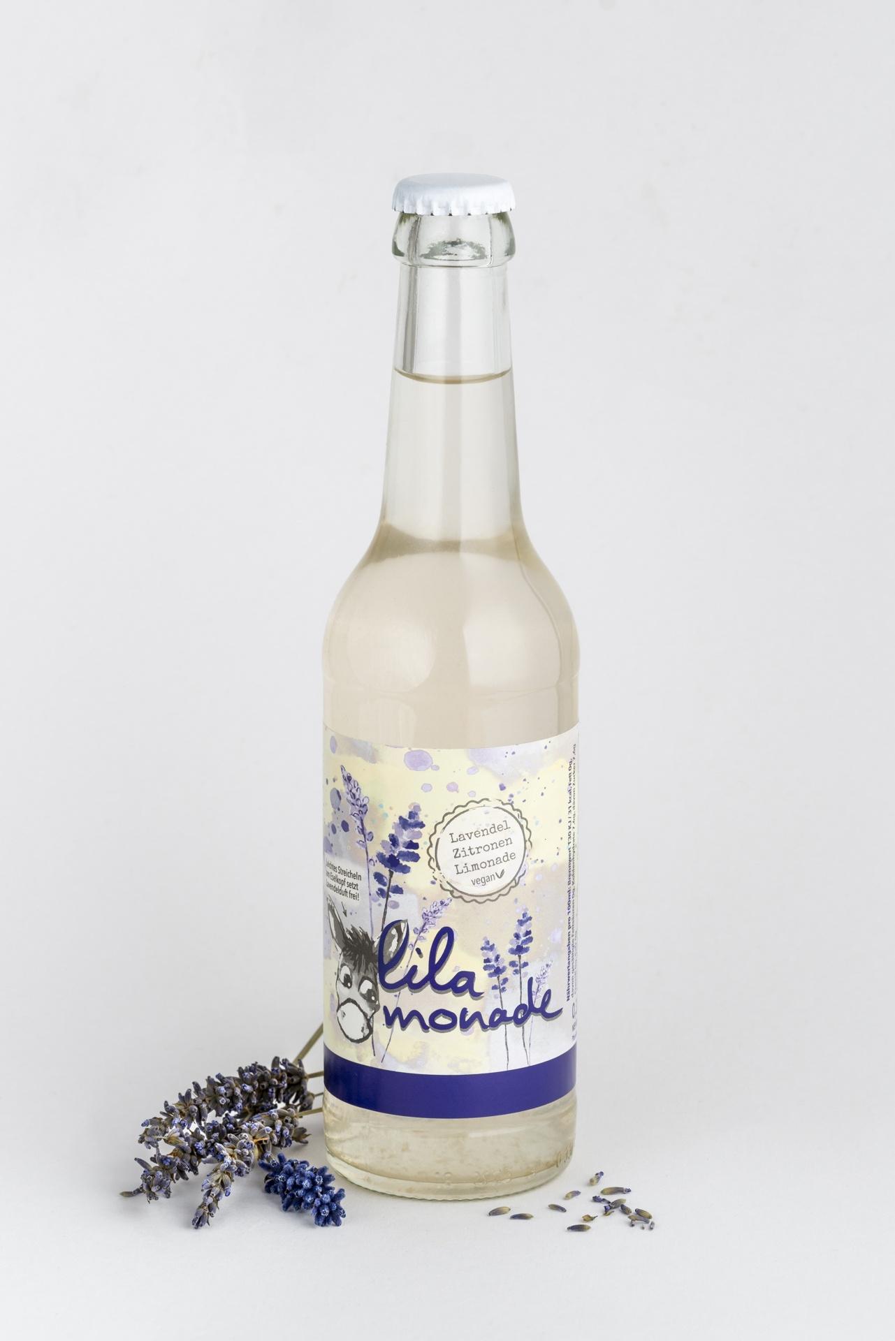 Lavendel Zitrone Limonade