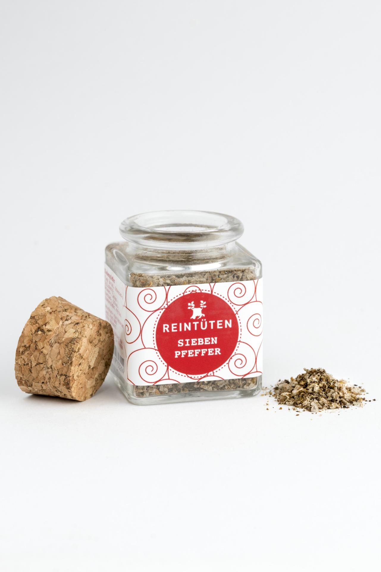 Siebenpfeffer - Pfeffermischung im Gewürzglas