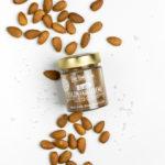 Salzmandelcreme aus gerösteten Mandeln