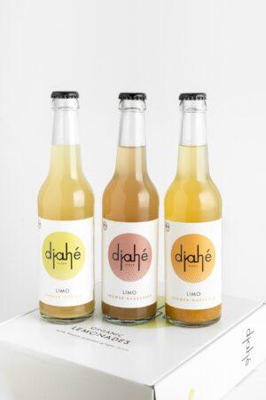 3 Flaschen Ingwer Limonade