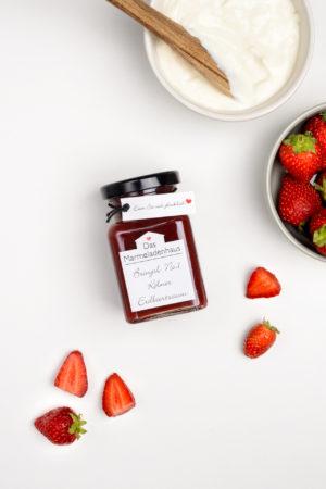 Marmelade aus Kölner Erdbeeren