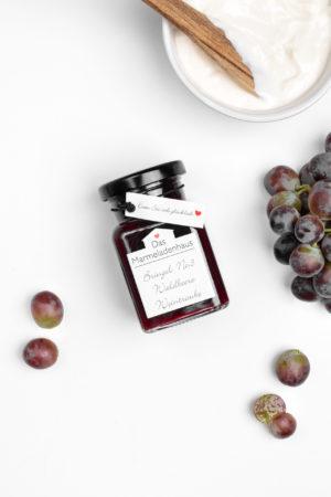 Waldbeere Weintraube Marmelade vom Marmeladenhaus