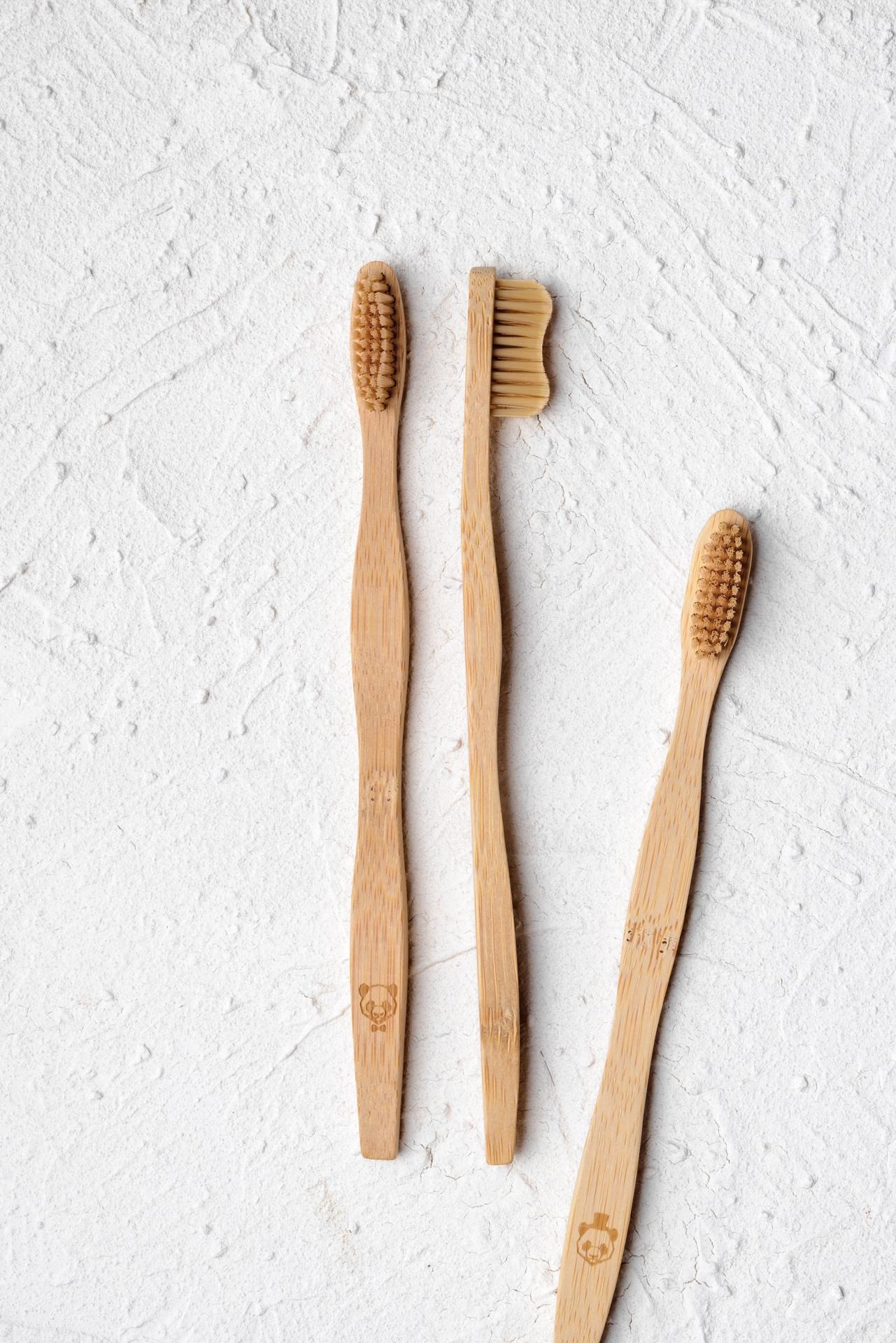 Weich, Mittel und Hart Bambus Zahnbürste