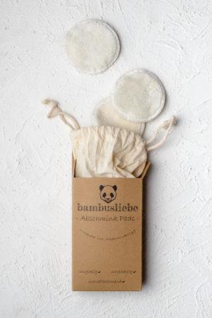 Waschbare Abschminkpads von Bambusliebe