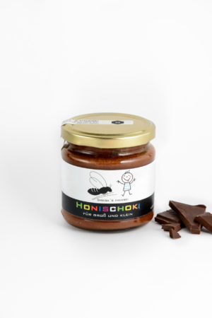 Honig Honigschoki Kakao Gregas Imkerei Produktbild
