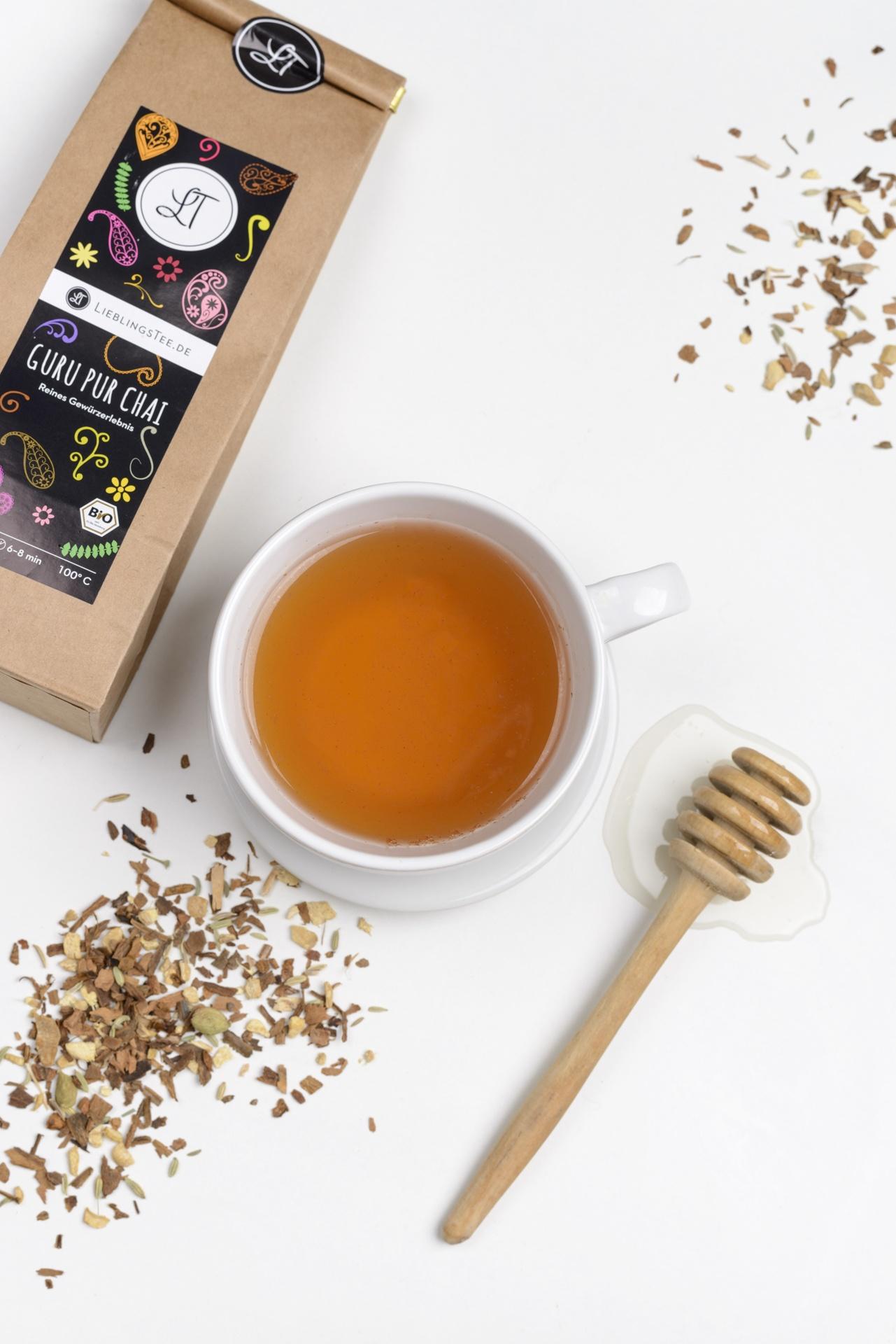 Eine Tasse Gur Pur Chai von LieblingstTee