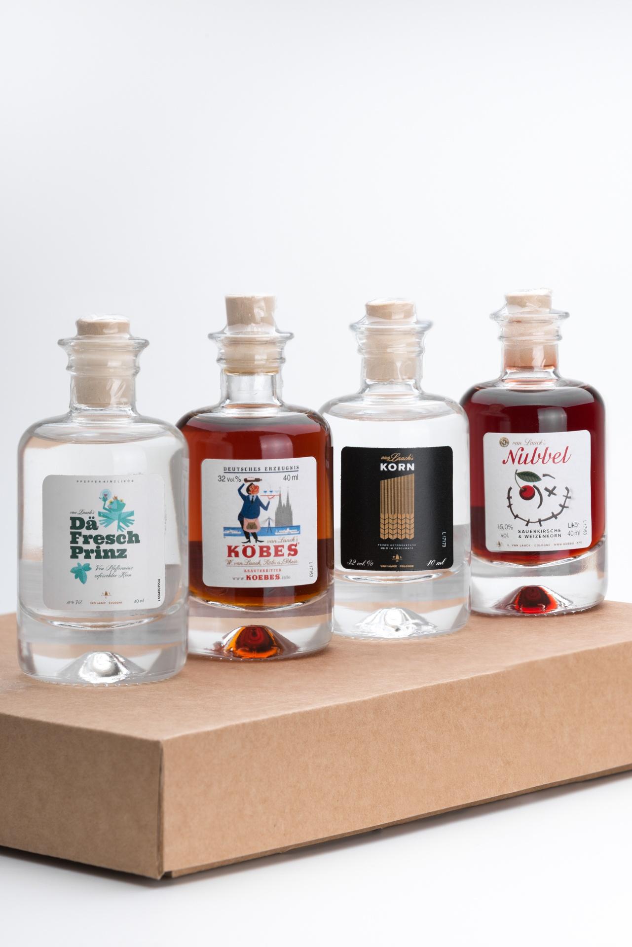 Mini Spirituosen Set von Van Laack