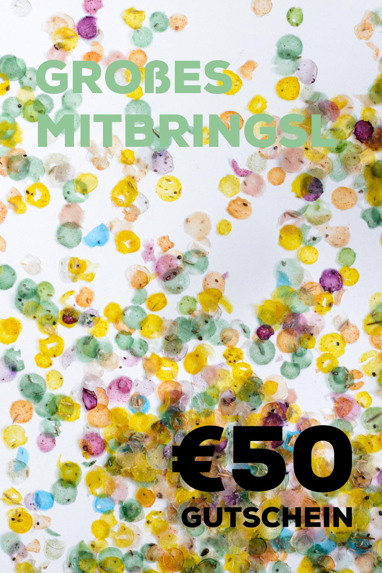 Bringsl Gutschein über 50€