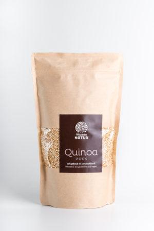 Quinoa Pops Mudda Natur Produktbild