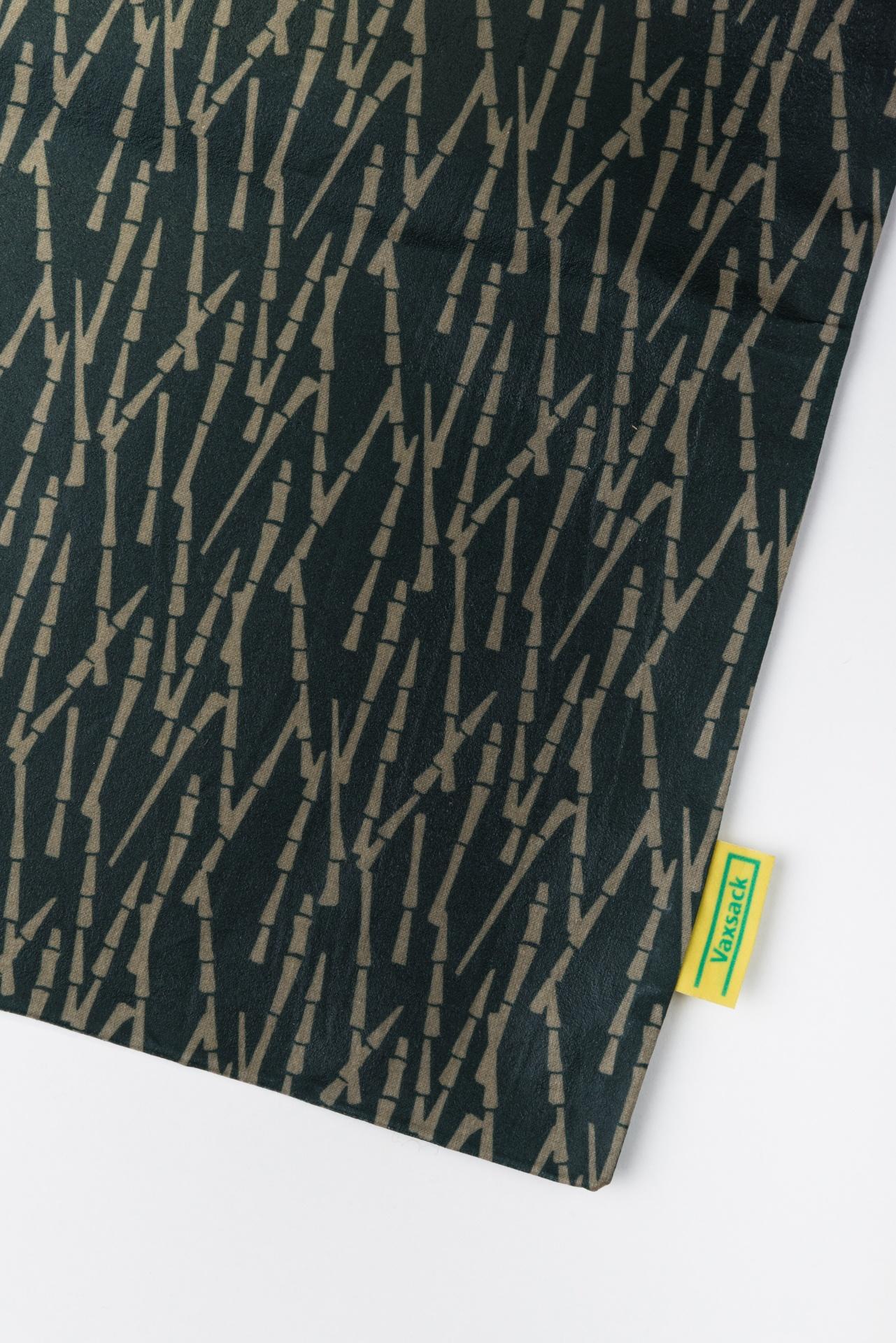 Wachssack L Vaxsack Vaxtuch nahaufnahme Produktbild Bambus