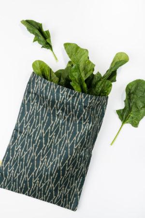 Wachssack L Vaxsack Vaxtuch mit Inhalt Produktbild Bambus