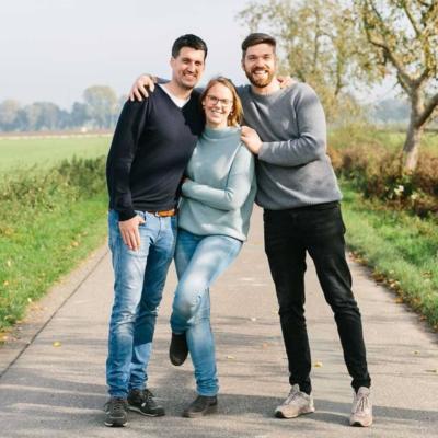 Johannes, Carolin & Philipp von Mudda Natur