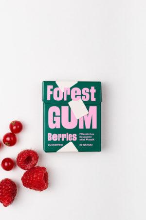 Forest Gum Berries Himbeeren geschlossen Produktbild Kaugummis