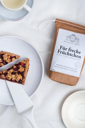 Horbacher Mühle Für freche Früchtchen Produktbild mit Kuchen 2