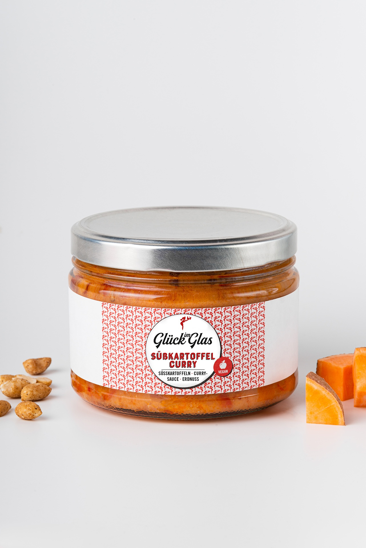 Süßkartoffelcurry im Glück im Glas Produktbild
