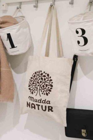 Jutebeutel Mudda Natur garderobe
