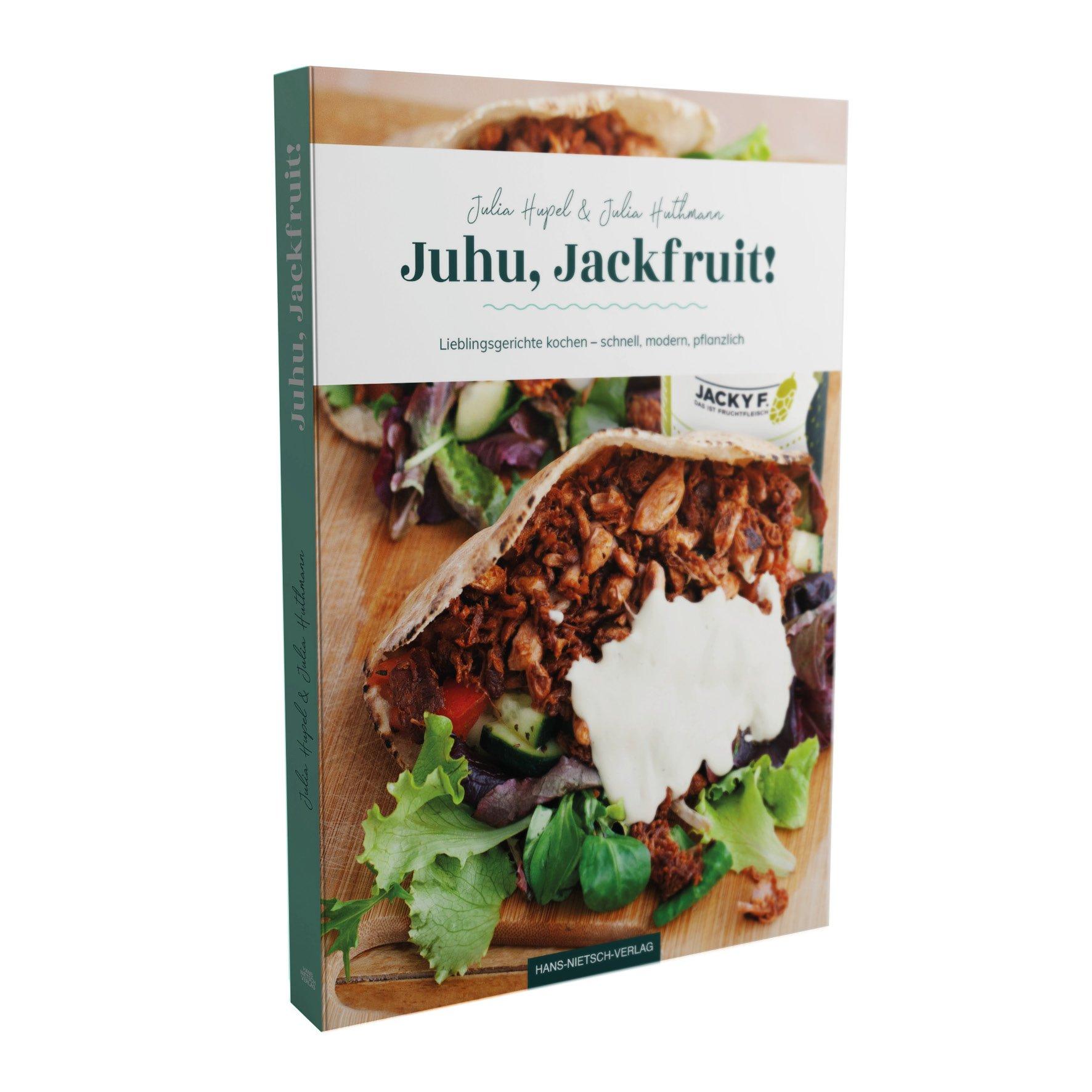 Kochbuch Juhu Jackfruit von Jacky F. Produktbild