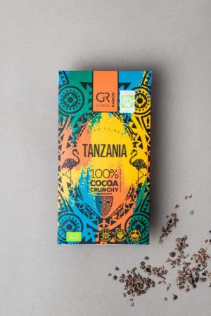 Dunkle Schokolade 100 % Georgia Ramon Tanzania Produktbild 1