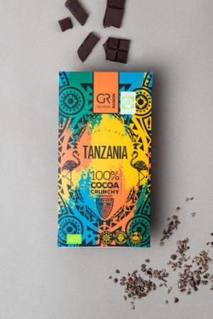 Dunkle Schokolade 100 % Georgia Ramon Tanzania Produktbild