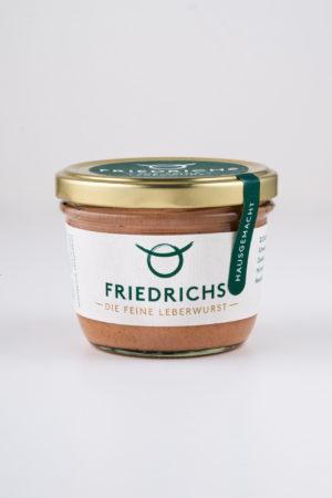 Leberwurst von der Metzgerei Friedrichs