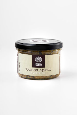 Mudda Natur Quinoa Spinat Aufstrich Produktbild