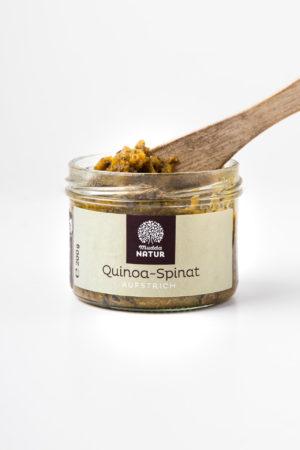 Mudda Natur Quinoa Spinat Aufstrich Produktbild 2