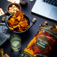 Fabulous sweet potatoes Pottkorn und Laptop